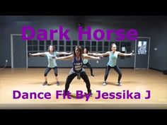 Dark Horse-Katy Perry -Zumba Toning -Jessika J - YouTube
