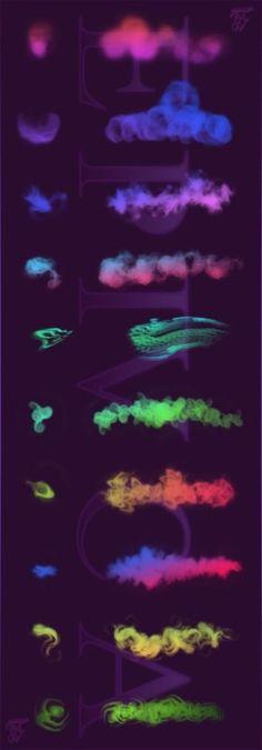 Beautiful Free Dynamic Photoshop Brushes for Painting   Starsunflower Studio Blog
