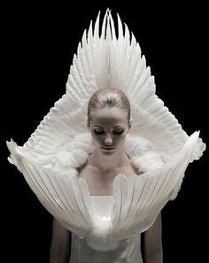 Jess Eton  'Roadkill Couture' Brighton , UK .