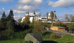 The Ferapontov convent (Russian: Ферапонтов монастырь), in the Vologda region of Russia, is considered one of the purest examples of Russian ... Get more information about the Ferapontov Monastery on Hostelman.com #attraction #Russia #world heritage site #travel #destinations #tips #packing #ideas #budget #trips
