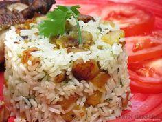 Sweet plantains rice {All Around Latin America} Dominican Republic: Sweet Plantain Rice in Celebration of Hispanic Heritage Month via @Bren Herrera (FlanboyantEats.com) // #Plantain #recipe