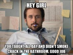 """I hate these, but I honestly laughed really hard.  Maybe because of the whole """"didn't smoke crack in the bathroom"""" that's it. that's why"""