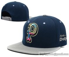 Pink Dolphin Snapback Navy|only US$8.90,please follow me to pick up couopons.