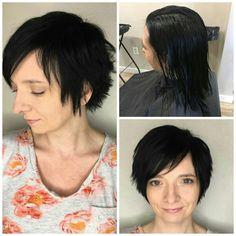 New hair for fall by Hailey  #FeatureFriday Haircut by Shannon⠀ ⠀⠀ #iamsalonanddayspa #aveda #haileyiam #hair #stylist #whatsupwilmington #wilmingtonnc #wilmingtonstylist #shorthair #barberskills  #modernsalon #americansalon #cb #carolinabeach #wb #wrightsvillebeach #wilmington #hairbrained #behindthechair