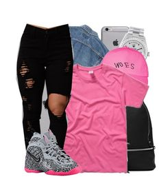 """""""Migos - Woa"""" by tanishacain ❤ liked on Polyvore featuring MICHAEL Michael Kors, Rolex, October's Very Own and NIKE"""