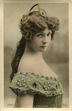 vintage french postcard - Sergyl