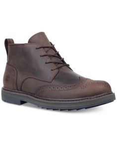 698eb1551a1ecc Timberland Men s Squall Canyon Wingtip Chukka Boots - Brown 7