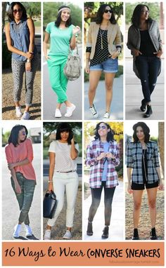 Fabulously Average, How to Style: 16 ways to wear converse sneakes