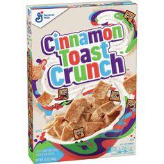 Cinnamon Cereal, Real Cinnamon, Cinnamon Toast Crunch, Whole Grain Foods, Whole Grain Wheat, Crunch Cereal, Granola Cereal, Breakfast Cereal, Breakfast Ideas