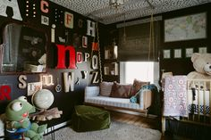 THE nursery.  From floor, to wall, to corner, to ceiling...every spot is full of personality and meaning.