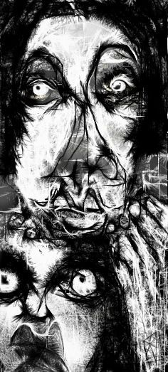 """Crypto's Son"" By Ruth Clotworthy Moonlight Photography, Dark Photography, Creepy Stuff, Creepy Art, Macabre Art, Art Addiction, Call Art, Distortion, Old Master"