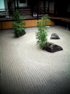 相国寺:中庭