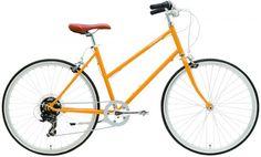 Damen Fahrrad yellow