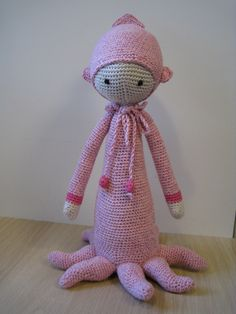 OLEG the octopus made by Christl A.-L. / crochet pattern by lalylala