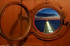 From inside the Grand Haven Lighthouse - Photo by Todd Parker