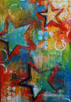 Karen Ellis/The Art House Studio: One Starry Canvas