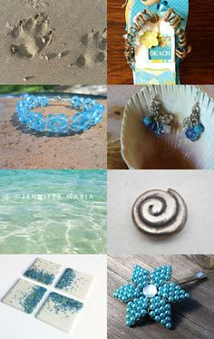 Sand in My Toes! by Traci on Etsy--Pinned with TreasuryPin.com  #Etsy  #EtsyRMP  #PayitForward