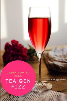 Best Cocktail Recipes, Easy Cocktails, How To Make Tea, Food To Make, Spritz Recipe, Cocktail And Mocktail, Gin Fizz, Gin Lovers, Frozen Drinks