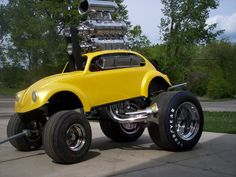 Vintage Cars Muscle More vintage cars hot rods and kustoms - Vw Cars, Pedal Cars, Volkswagen, Classic Hot Rod, Classic Cars, Vintage Cars, Antique Cars, Baja Bug, Beach Buggy