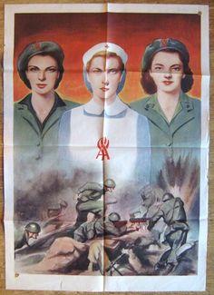 Poster Arruolamento nel SAF della RSI | Militaria Italia R.S.I.