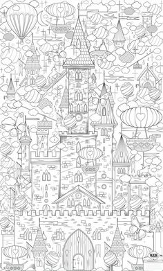 Supersized Colouring Picture King Of My Castle Hours Fun In One