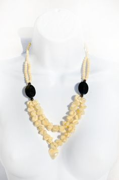 Mother of Pearl Handmade Recycled Hippie by theELEPHANTpink, $36.99