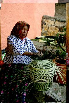 Basket Weaver  Mexico