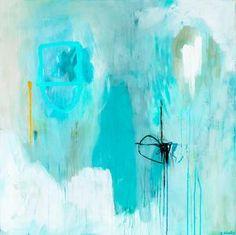 Large abstract art print modern minimalist by SarinaDiakosArt Blue Abstract Painting, Abstract Canvas, Abstract Print, Painting Prints, Art Prints, Abstract Paintings, Original Artwork, Original Paintings, Pop Art