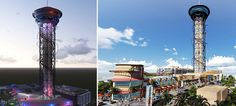 Coaster enthusiasts are always on the hunt for their next big thrill, and come 2016 they may be drawn back to Orlando. That's when the Skyplex complex is set to open, featuring the world's tallest roller coaster wrapped around its 570-foot tall tower.
