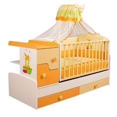 Προίκα μωρού Καμηλοπάρδαλη Πορτοκαλί - motherbaby.gr Baby Room, Cribs, Toddler Bed, Furniture, Home Decor, Cots, Child Bed, Decoration Home, Bassinet