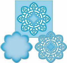 £8.99    Spellbinders shapeabilities D-lites medallion four s2-021 | eBay