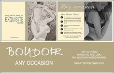 Boudoir+Marketing+Template+for+Photographers++Any+by+SavantDesign