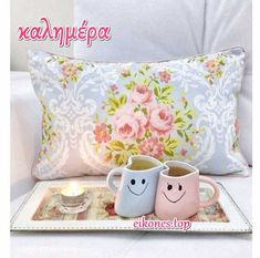 Pink Grey, Pink And Green, Blue, Coffee Cookies, Things To Buy, Hot Chocolate, Summer Time, Tea Time, Good Morning