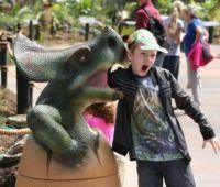 Dinosaur Kingdom Butterfly House, Sabbatical, Tropical Birds, Farm Animals, New Zealand, Good Books, Garden Sculpture, Creatures, Fun