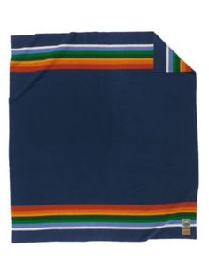 CRATER LAKE NATIONAL PARK BLANKET. Pendleton has a collection of blankets with a design to honor each national park. Really cool!