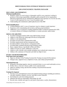 Training Coordinator Resume Cover Letter    Http://www.resumecareer.info/training Coordinator Resume Cover Letter/ |  Resume Career Termplate Free | Pinterest ...