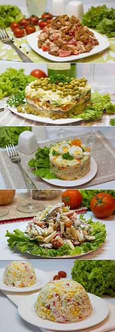 салаты и закуски на новый год 2015 миллион рецептов