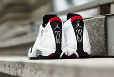 """Releasing: Air Jordan 14 Retro """"Black Toe"""""""