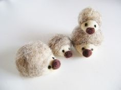 Felt Hedgehogs by Butter Home