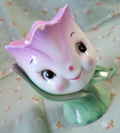 Vintage Tulip Egg Cup from Japan