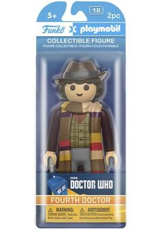 Fourth Doctor Vinyl Figure - Funko Playmobil! van Doctor Who
