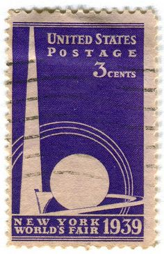 1939 World Fair Stamp.