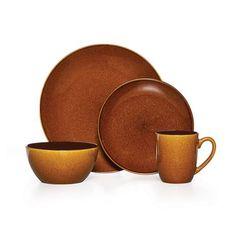 Honey 48 Piece Dinnerware Set