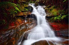 Nature, Travel, Landscape and Stock Photography - Yegor Korzh :: Travel Photography Water Photography, Travel Photography, Waterfalls Photography, Blue Mountains Australia, Waterfall Photo, Water Features, Beautiful Places, Beautiful Life, Amazing Places