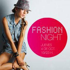 Diseño campaña publicitaria 'Fashion Night, Granada'