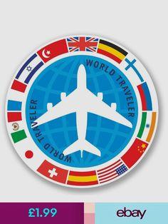 2 x Zagreb Croatia Vinyl Sticker Car Travel Luggage #9526