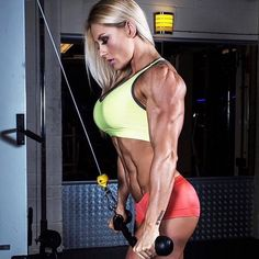 """fitgymbabe: """"Instagram: fbb_fan Great Pic! - Check out more of her pics: fbb_fan on Fit Gym Babe Instagram Caption: Ms. Louise Rogers amazing body!!! Sexy&Strong!!! She Rocks!! Look at @louise_ifbbpro @fbb_fan @spiltag @fbbwomen @fbbgoon..."""