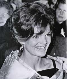 First Lady Jacqueline Bouvier Kennedy. So much class, we'll never have another like her.