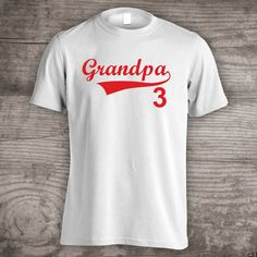Fathers Day Baseball t-shirts GrandpaDad shirt Ball by StoykoTs