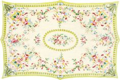 FRENCH MEDALLION – This rug comes in all sizes.   The Rug Market @ Pipkins Home Decor and Accessories.